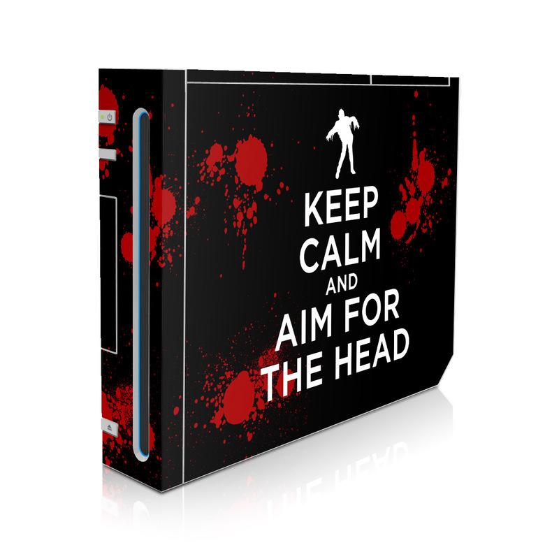 Keep Calm - Zombie Wii Skin
