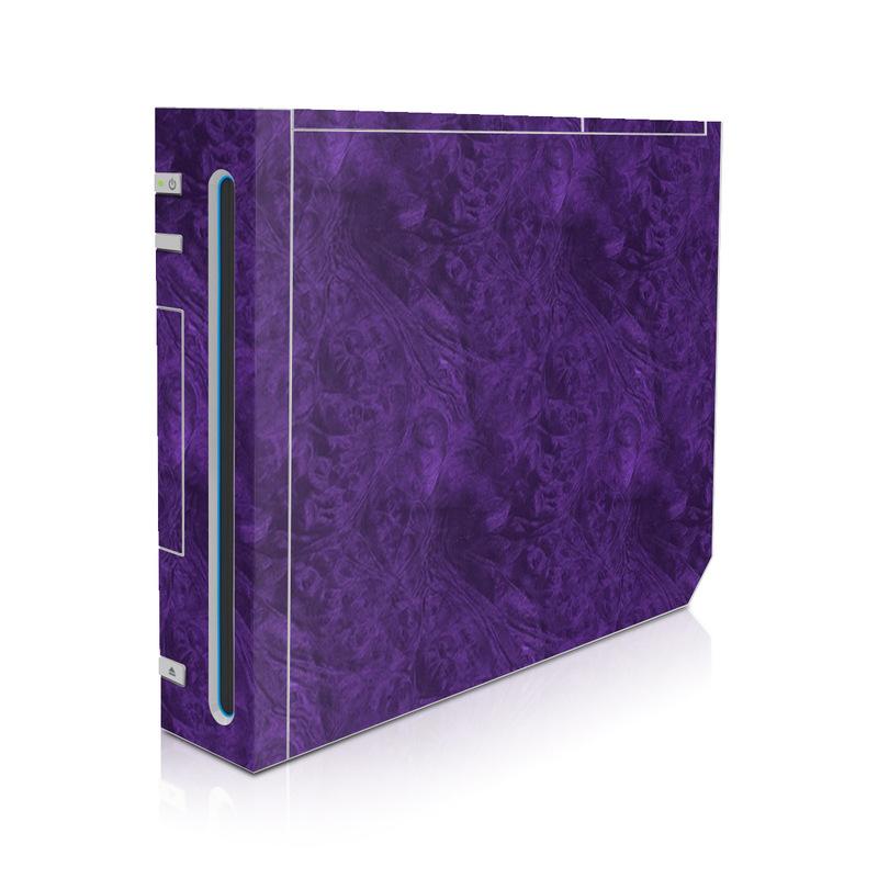 Purple Lacquer Wii Skin