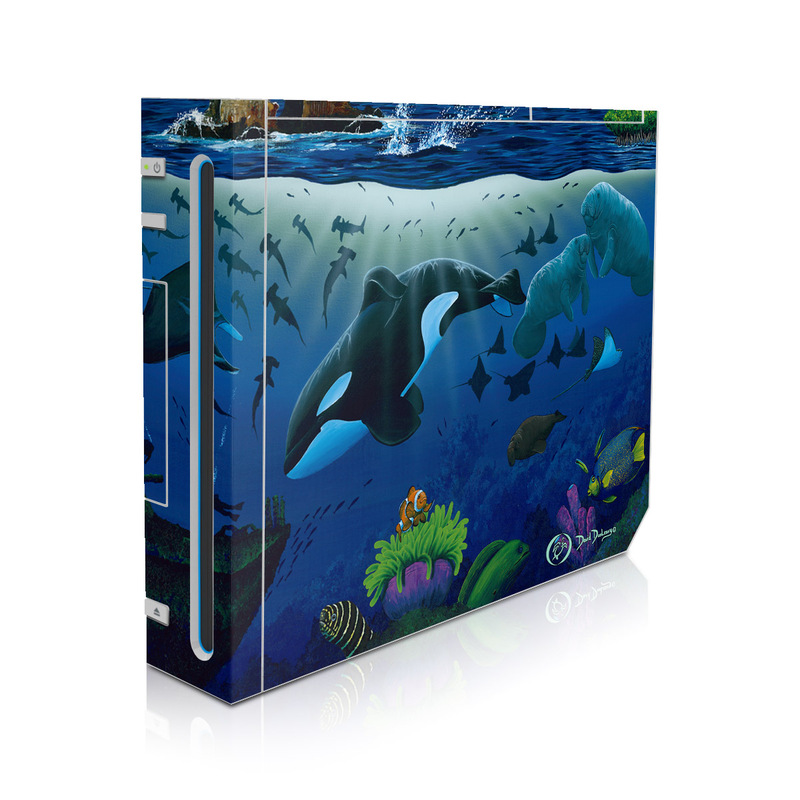 Oceans For Youth Wii Skin
