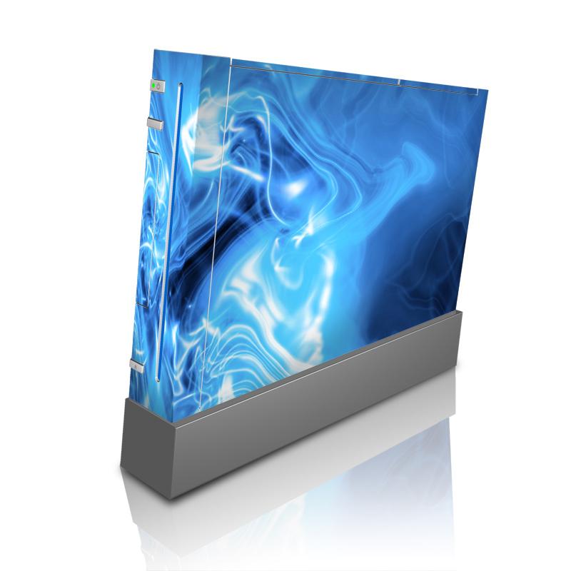 Blue Quantum Waves Wii Skin