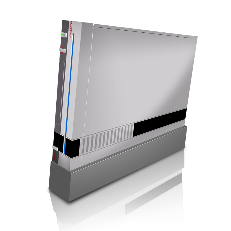 Retro Horizontal Wii Skin