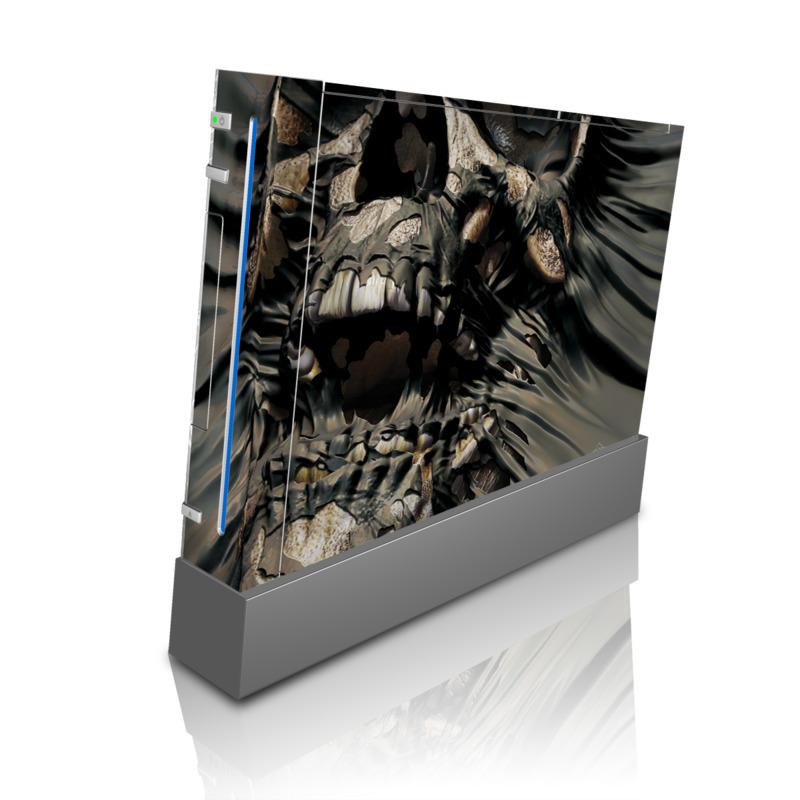 Skull Wrap Wii Skin