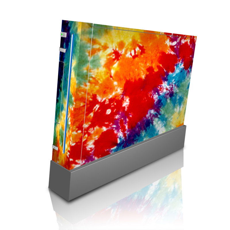 Wii Skin design of Orange, Watercolor paint, Sky, Dye, Acrylic paint, Colorfulness, Geological phenomenon, Art, Painting, Organism with red, orange, blue, green, yellow, purple colors