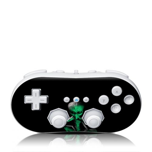 Abduction Wii Classic Controller Skin