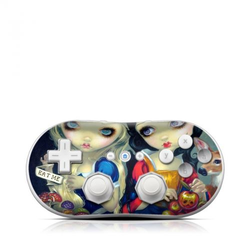 Alice & Snow White Wii Classic Controller Skin
