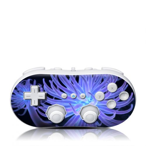 Anemones Wii Classic Controller Skin