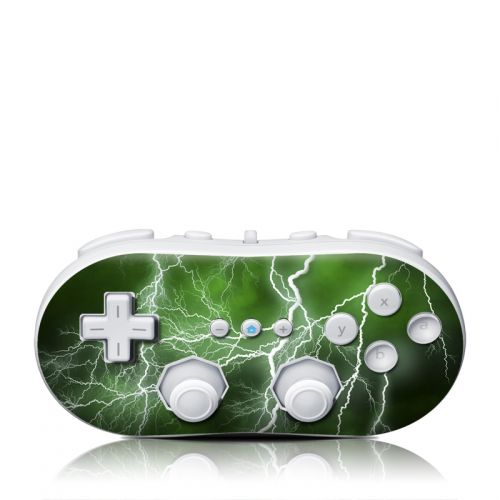 Apocalypse Green Wii Classic Controller Skin