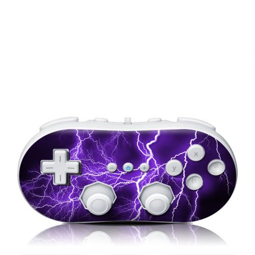 Apocalypse Violet Wii Classic Controller Skin