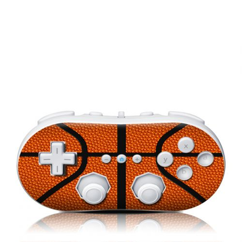 Basketball Wii Classic Controller Skin