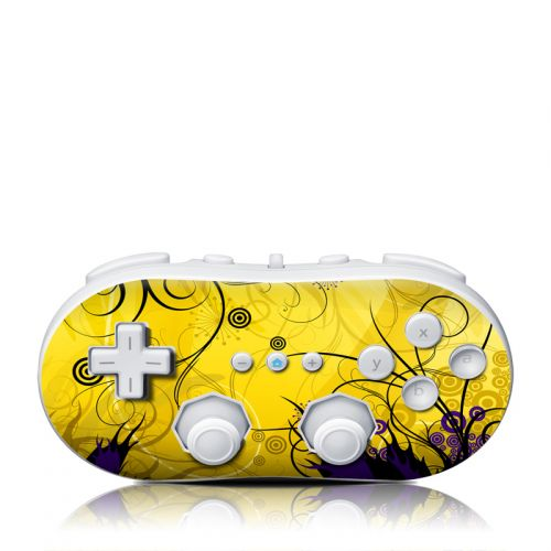 Chaotic Land Wii Classic Controller Skin