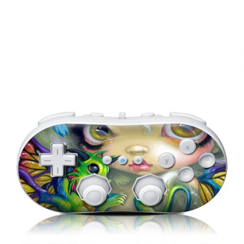 Dragonling Wii Classic Controller Skin