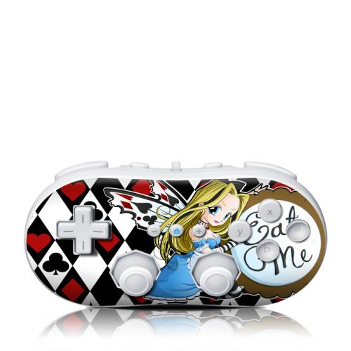 Eat Me Wii Classic Controller Skin