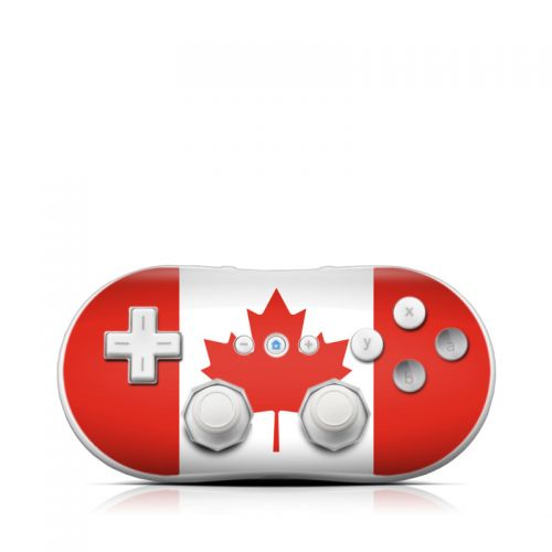 Canadian Flag Wii Classic Controller Skin