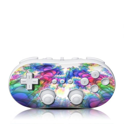 Flashback Wii Classic Controller Skin
