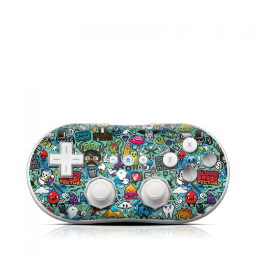 Jewel Thief Wii Classic Controller Skin