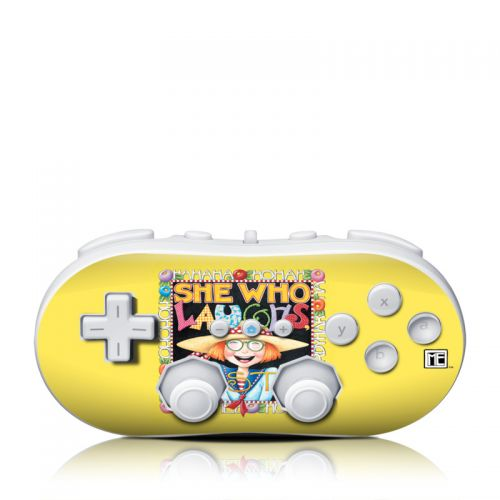 She Who Laughs Wii Classic Controller Skin