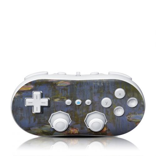 Monet - Water Lilies Wii Classic Controller Skin