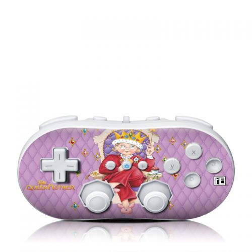 Queen Mother Wii Classic Controller Skin