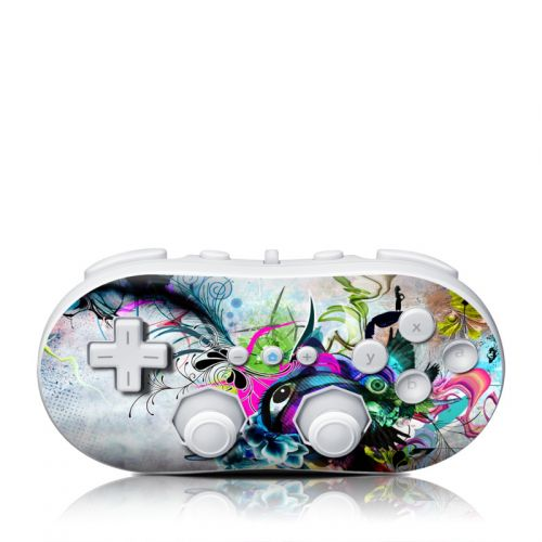 Streaming Eye Wii Classic Controller Skin