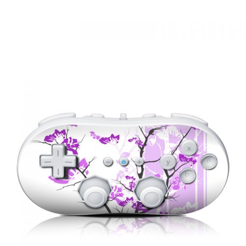 Violet Tranquility Wii Classic Controller Skin