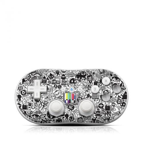 TV Kills Everything Wii Classic Controller Skin