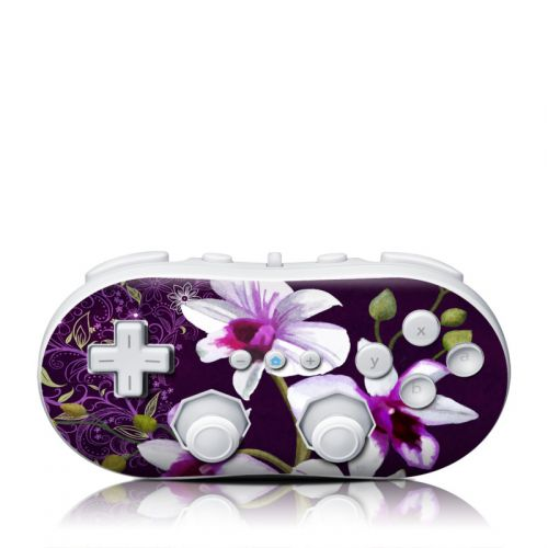 Violet Worlds Wii Classic Controller Skin