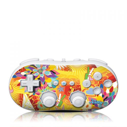 Wall Flower Wii Classic Controller Skin
