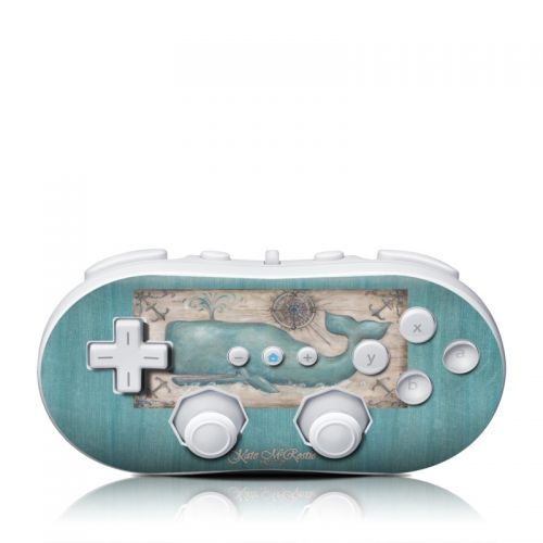 Whale Watch Wii Classic Controller Skin