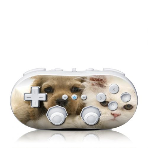 Young Love Wii Classic Controller Skin
