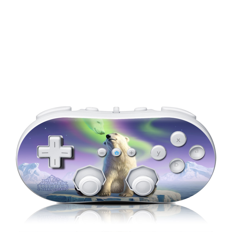 Arctic Kiss Wii Classic Controller Skin
