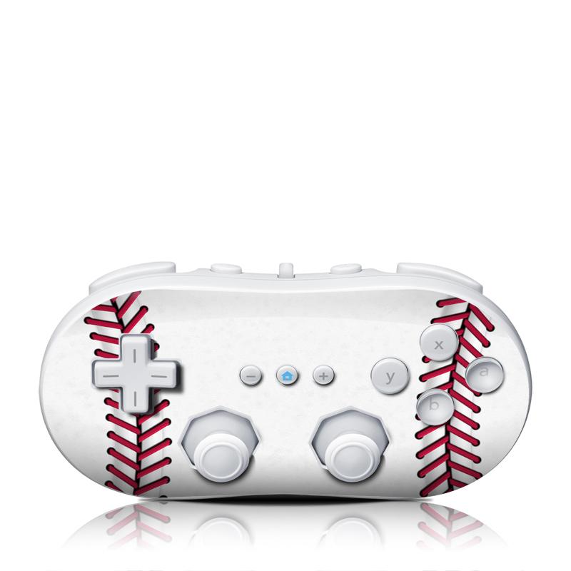 Baseball Wii Classic Controller Skin