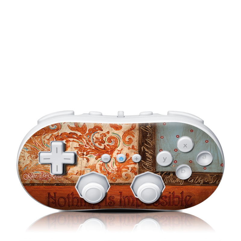 Be Inspired Wii Classic Controller Skin