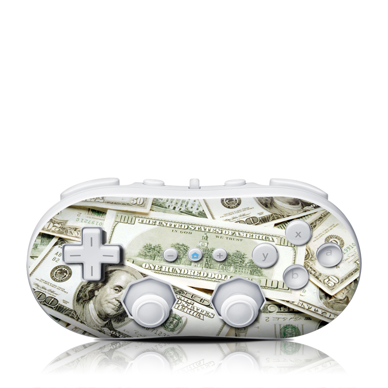 Benjamins Wii Classic Controller Skin
