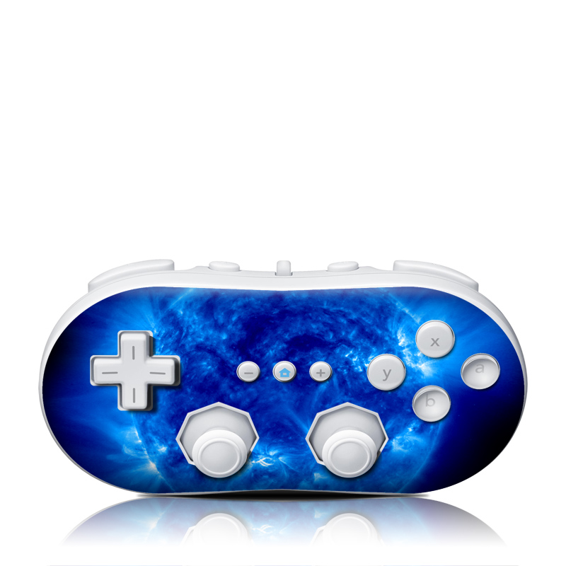 Blue Giant Wii Classic Controller Skin