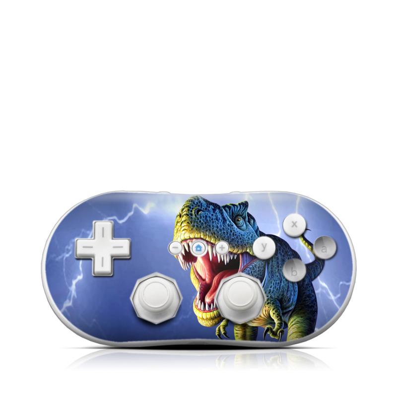 Big Rex Wii Classic Controller Skin