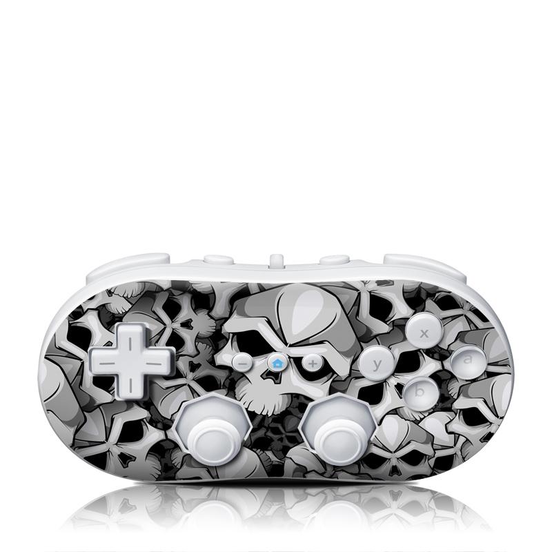 Bones Wii Classic Controller Skin
