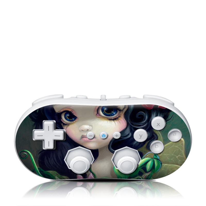 Carnivorous Bouquet Wii Classic Controller Skin