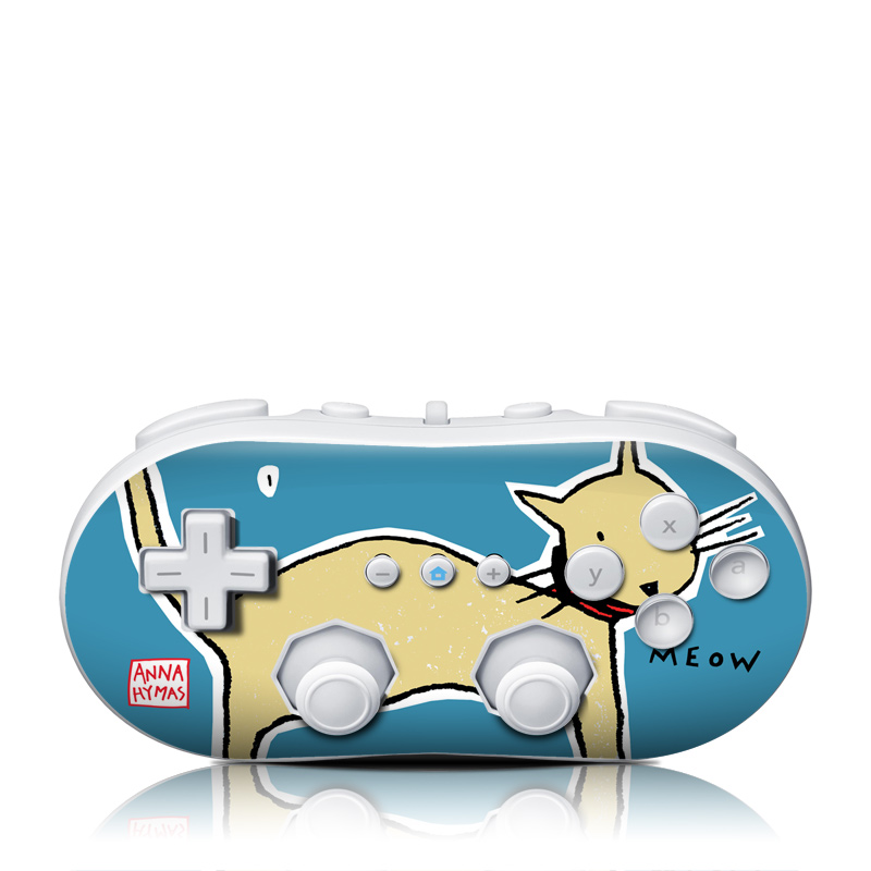 Wii Classic Controller Skin design of Deer, Cartoon, Animation, Tail, Reindeer, Illustration, Wildlife, Fawn, Roe deer, Graphics with blue, yellow, red colors