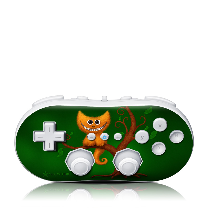 Cheshire Kitten Wii Classic Controller Skin