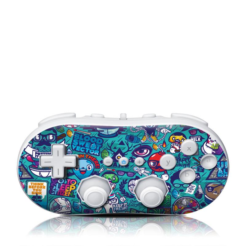 Cosmic Ray Wii Classic Controller Skin