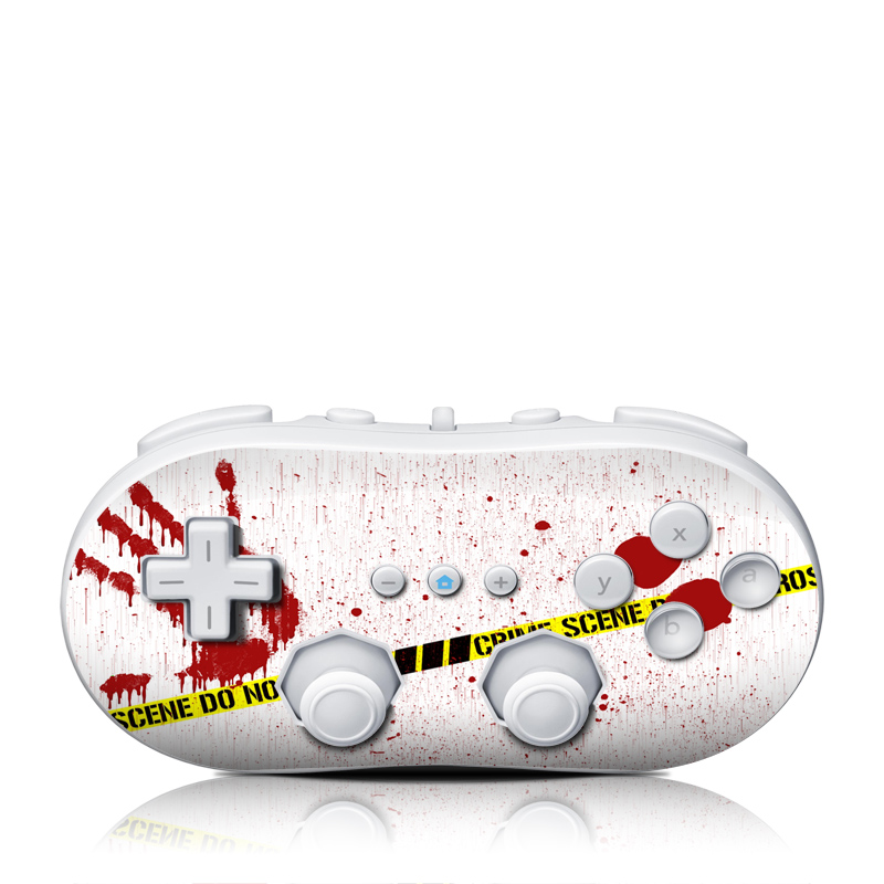 Crime Scene Revisited Wii Classic Controller Skin