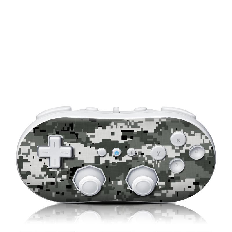 Digital Urban Camo Wii Classic Controller Skin