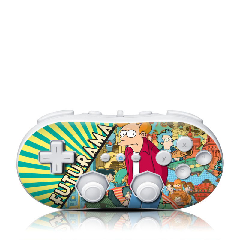 Fry Wii Classic Controller Skin