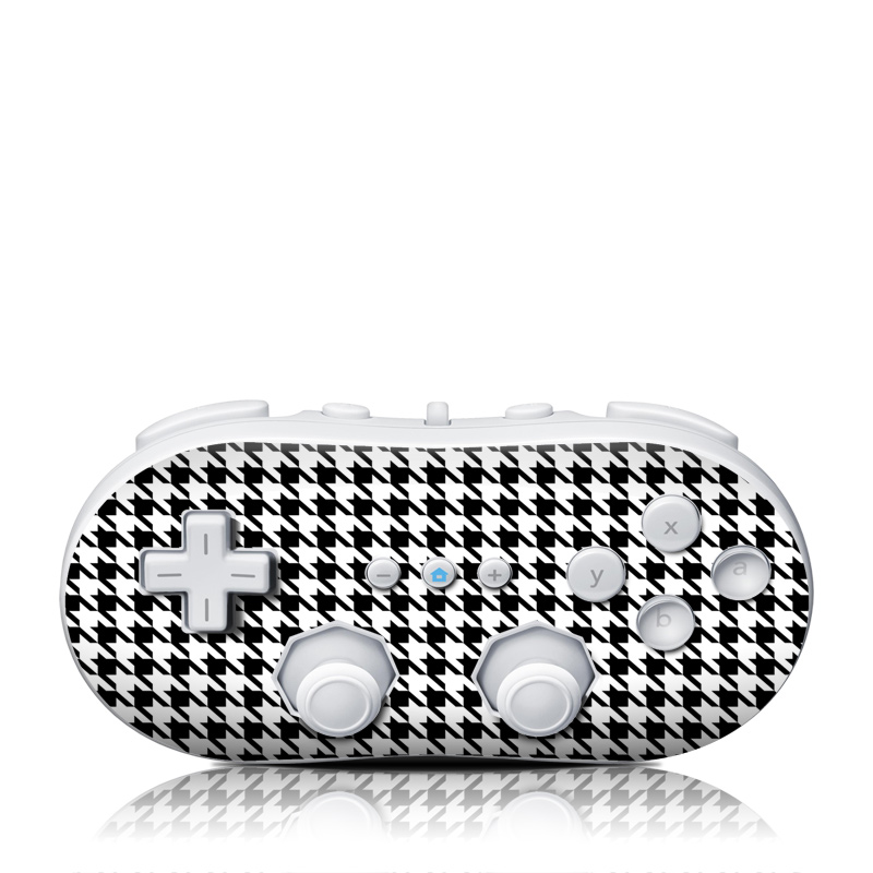 Houndstooth Wii Classic Controller Skin