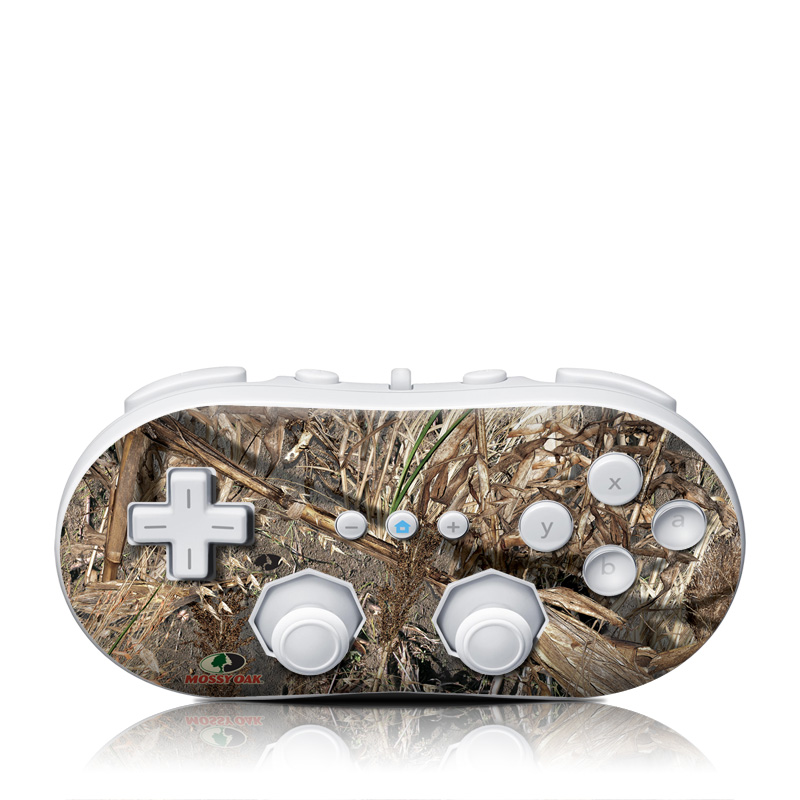 Duck Blind Wii Classic Controller Skin