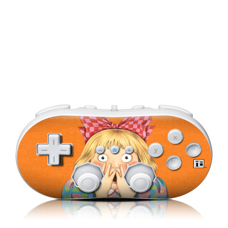 Oh No Wii Classic Controller Skin