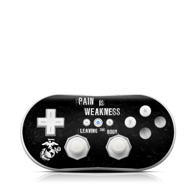 Pain Wii Classic Controller Skin