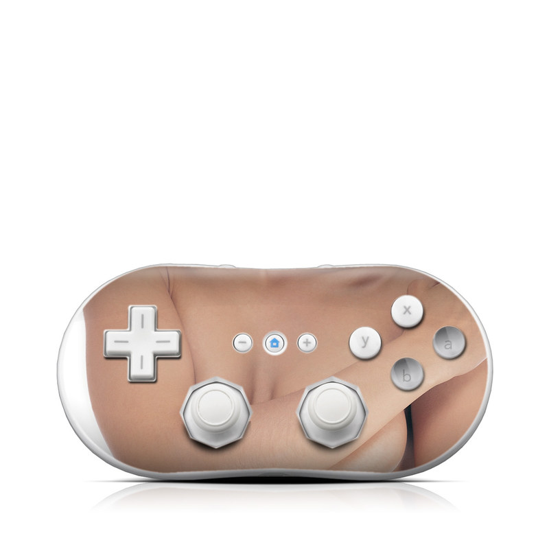 Sexy Girl Wii Classic Controller Skin