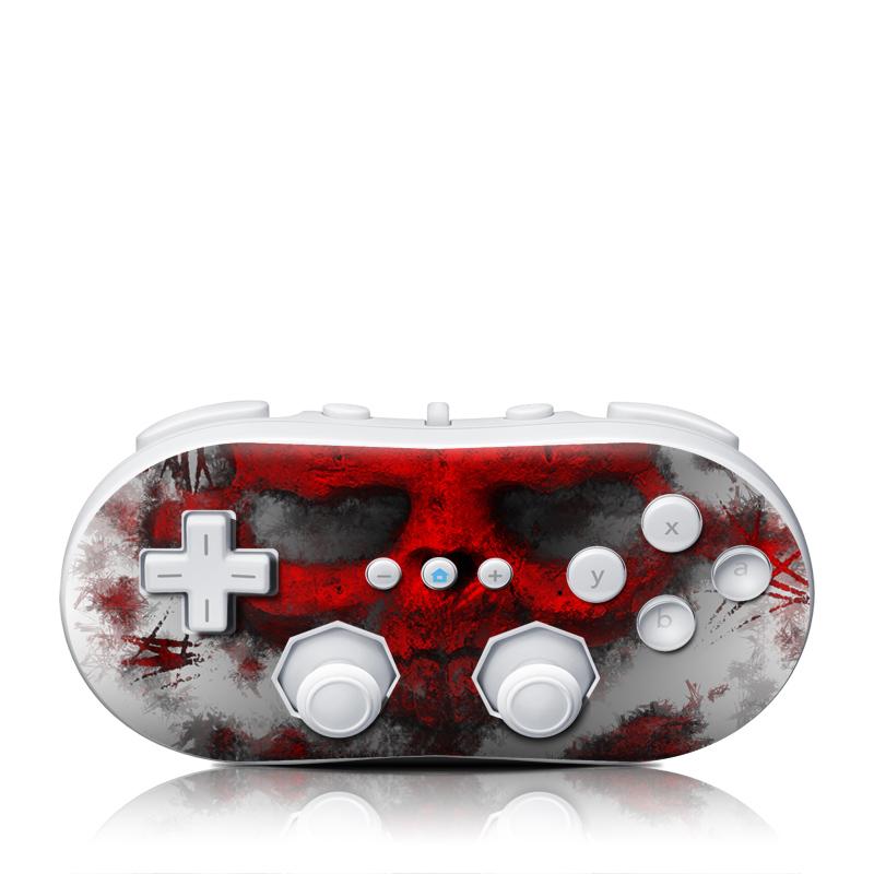 War Light Wii Classic Controller Skin