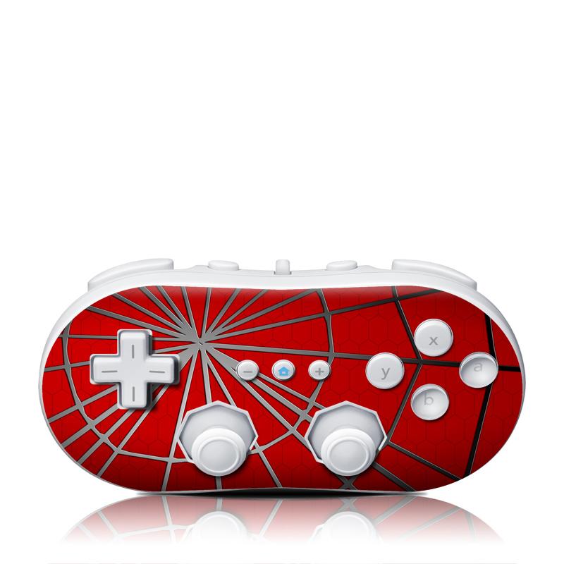 Webslinger Wii Classic Controller Skin